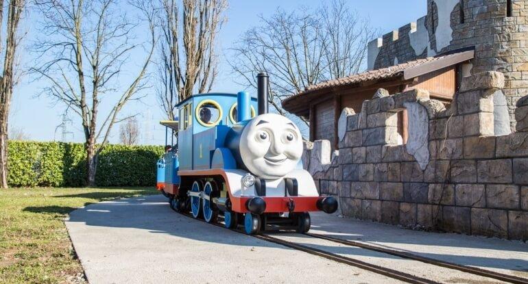 Il Trenino Thomas al parco divertimenti Leolandia